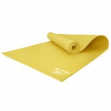 Мат для йоги Reebok желтый, код: RAYG-11022YL