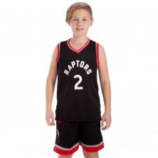 Форма баскетбольна підліткова PlayGame NB-Sport NBA Raptors 2 M-2XL, код: BA-0969