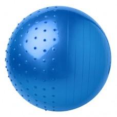 М'яч для фітнесу комбі FitGo 65 см синій, код: 5415-27B-WS