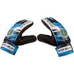 Воротарські рукавички Latex Foam Intermilan, біло-блакитний, розмір 8, код: GGLF-IM/8-WS