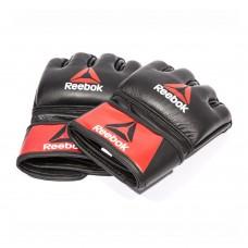 Рукавички MMA Reebok M шкіряні, код: RSCB-10320RDBK
