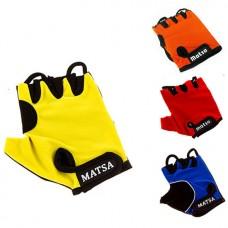 Перчатки вело, фитнес Matsa лайкра размер L, код:  MT-1000LO