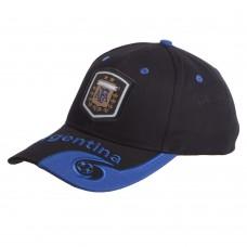 Кепка футбольного клубу Argentina, чорний-синій, код: CO-0794-S52