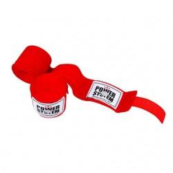 Бинты для бокса Power System Red 4 м, код: PS-3404_Red