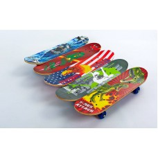 Скейтборд PLAYBABY Mini в сборе 600х150х12 мм, код: SK-4932