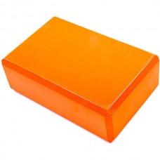 Йога блок FitGo 230х150х80 мм, код: 3158OR