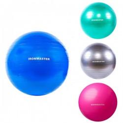 М'яч для фітнесу IronMaster 650 мм, код: IR97402-65