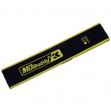 Стрічка опору Modern Loop L 620x62 мм, чорний-салатовий, код: FI -2621-L-S52