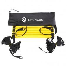 Координаційна драбина (швидкісна доріжка) Springos 8 м, код: FA0039