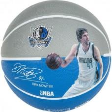 Мяч баскетбольный Spalding NBA Player Dirk Nowitzki, код: NBA_DN_7