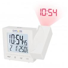 Годинники проекційні Explore Scientific Projection RC Alarm White (RDP1001GYELC2), код: 928645-SVA