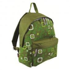 Рюкзак городской Highlander Zing Kaleidos Square Print Green 20 л, код: 924242