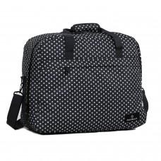Сумка дорожня Members Essential On-Board Travel Bag Black Polka 40, код: 927837