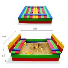 Дитяча пісочниця SportBaby 30 200х200 см, код: Пісочниця 30