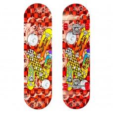 Скейтборд в сборе PLAYBABY 780х200х12 мм, код: SK-7168