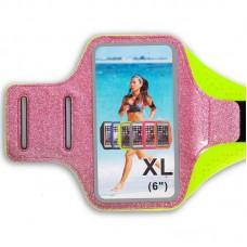 Чохол для телефону з кріпленням на руку для занять спортом FitGo 180x70 мм (для iPhone та iPod), код: C-0327-S52