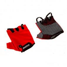 Перчатки вело, фитнес Matsa лайкра размер M красный, код: MT-1000MR