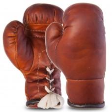 Рукавички боксерські сувенірні на шнурівці Vintage, код: F-0244