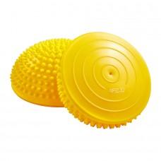 Полусфера массажная балансировочная 4Fizjo Balance Pad Yellow 160 мм, код: 4FJ0110