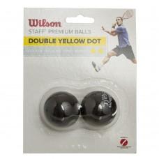 Мяч для сквоша Wilson 2шт, код: WRT617600-S52