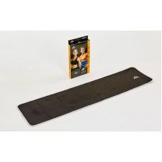 Пояс для схуднення з композитної тканини зі швидким нагріванням зі срібного волокна FitGo 180x1000x3 мм, код: ST-2148-M