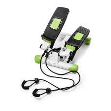 Міні-степпер поворотний з еспандерами 4Fizjo White/Green, код: 4fj0213
