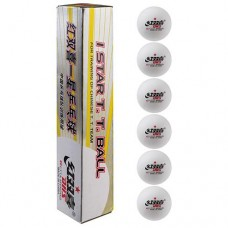 Шарики для настольного тенниса DHS 1*, 6 шт, код: D-16