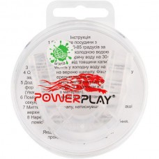 Капа боксерская PowerPlay Transparent, код: PP_3306_JR_Trans_MINT