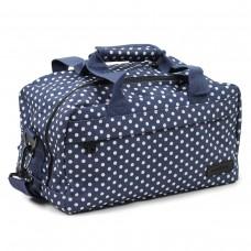 Сумка дорожня Members Essential On-Board Travel Bag Navy Polka 12,5 л, код: 927842