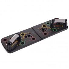 Універсальна дошка для віджимань лежачи CrossGym 660x190 мм чорний, код: FI-2959-S52