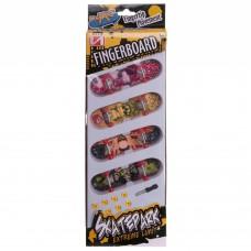 Фінгерборд-міні скейт PlayBaby 4 фінгерборда, код: 998-3-S52