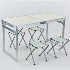 Набір для пікніка (стіл + 4 стільця) Camping, код: 8188