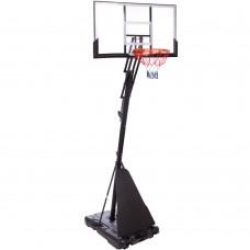 Стойка баскетбольная со щитом PlayGame Delux 1270х800х3050 мм, код: S024-S52