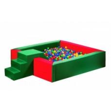 Сухий басейн з гіркою Tia-Sport 1500х400 мм, код: sm-0201