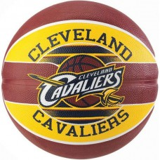 Мяч баскетбольный Spalding NBA Team Cleveland Cavs, код: NBA_TCC_7