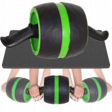 Ролик для преса з поворотним механізмом Springos AB Wheel Black/Green, код: FA5010