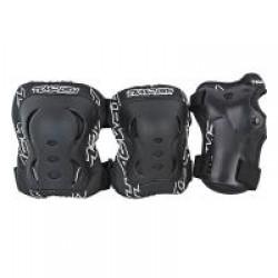 Комплект захисту зап'ястя, колін і ліктів Tempish Fid Black S (3 предмета), код: 1020000713/black/S