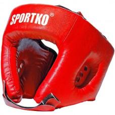 Боксерские шлем SportKo Red, код: S-OD1R