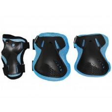 Комплект защитный SportVida Size S Blue/Black, код: SV-KY0005-S