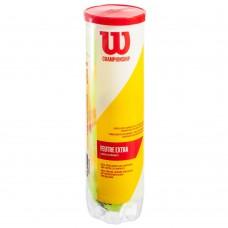 М'яч для великого тенісу Wilson Championship Extra Duty 4 шт, код: WRT110000