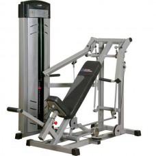 Жим под углом вверх InterAtletika Gym Business, код: BT128