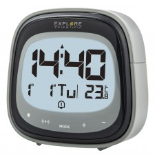 Годинники настільні Explore Scientific RC Dual Alarm Black (RDC3006CM3LC2), код: 928646-SVA