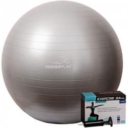Мяч для фитнеса PowerPlay 750 мм Silver, код: PP_4001_75_Silver