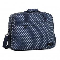 Сумка дорожня Members Essential On-Board Travel Bag Navy Polka 40 л, код: 927838