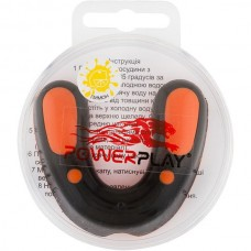 Капа боксерская PowerPlay Orange/Black, код: PP_3315_SR_BLACK/OR/LEMON