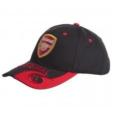 Кепка футбольного клубу Arsenal, чорний-червоний, код: CO-0795-S52