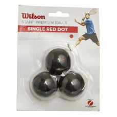 Мяч для сквоша Wilson Staff 3шт., код: WRT618200-S52
