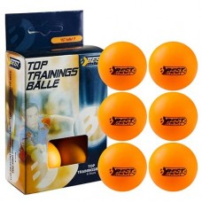 Мячи для настольного тенниса Best 6 шт, код: 23101