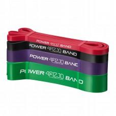 Еспандер-петля 4Fizjo Power Band 4 шт 6-36 кг, код: 4FJ0063