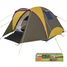 Палатка 3-местная двухслойная Mimir коричневая, код: MM/Х-11650A-WS